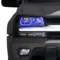 Profile Pixel Performance - Profile Performance Prism Fitted Halos (RGB) | 2002-2009 Chevy Trailblazer