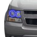 Profile Pixel Performance - Profile Performance Prism Fitted Halos (RGB) | 2007-2014 Chevy Suburban