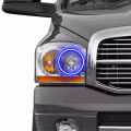 Lighting Products | Dodge Ram 2500/3500 - Dodge Ram 2500/3500 RGB & Switchback (DRL Boards, Halos, & Demon Eyes) - Profile Pixel Performance - Profile Performance Prism Fitted Halos (RGB) | 2006-2008 Dodge Ram
