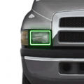 Lighting Products | Dodge Ram 2500/3500 - Dodge Ram 2500/3500 RGB & Switchback (DRL Boards, Halos, & Demon Eyes) - Profile Pixel Performance - Profile Performance Prism Fitted Halos (RGB) | 1994-2001 Dodge Ram