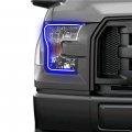 2004-2008 Ford F150 - Ford F-150 Lighting Products - Profile Pixel Performance - Profile Performance Prism Fitted Halos (RGB) | 2015-2017 Ford F-150 w/o OEM LED