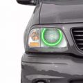 Ford F-150 - Ford F-150 Lighting Products - Profile Pixel Performance - Profile Performance Prism Fitted Halos (RGB) | 1997-2003 Ford F-150