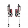 Suspension & Steering - Shocks - Rough Country - Rough Country Rear Adjustable Vertex Shocks (3.5-4in) | 2007-2018 Jeep Wrangler JK