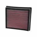 Shop By Vehicle - Cold Air Intakes - K&N Filters - K&N Replacement Air Filter | 2013-2018 Dodge Ram Cummins 6.7L