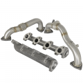 Exhaust Systems - Exhaust Manifolds - aFe Power - aFe Power Twisted Steel/BladeRunner Package | 2008-2010 Ford Powerstroke 6.4L