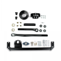 Diesel Truck Parts - Sinister Diesel - Sinister Diesel Adjustable Track Bar, Steering Box Support & Leveling Kit | 2003-2009 Dodge/Ram Cummins 5.9/6.7L