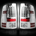 Lighting Products - Tail Lights - RECON - RECON Clear LED Tail Lights | 09-14 Dodge Ram 1500 / 10-14 Ram 2500/3500