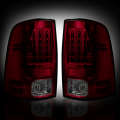 Gas Truck Parts - Dodge Ram 1500 - RECON - RECON Red/Smoke LED Tail Lights | 09-14 Dodge Ram 1500 / 10-14 Ram 2500/3500