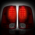 2002-2008 Dodge Ram - Lighting Products | Dodge Ram 2500/3500 - RECON - RECON Red/Smoke LED Tail Lights | 09-14 Dodge Ram 1500 / 10-14 Ram 2500/3500
