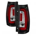 Lighting Products - Tail Lights - Spyder - Spyder® Black/Red LED Tail Lights | 2007-2014 Chevy/GMC SUV