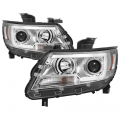 2014+ Chevy Colorado / GMC Canyon - Lighting | 2014+ Colorado / Canyon - Spyder - Spyder® Chrome LED DRL Bar Projector Headlights | 2015-2017 Chevy Colorado