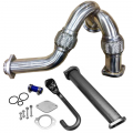 Exhaust System | 2003-2007 Ford Powerstroke 6.0L - Down Pipes & Up Pipes | 2003-2007 Ford Powerstroke 6.0L - Outlaw Diesel - Outlaw Diesel Stainless Steel Turbo Y-Pipe & EGR Upgrade Kit | 2003-2007 Ford Powerstroke 6.0L