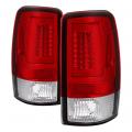 Lighting - Tail Lights - Spyder - Spyder® Chrome/Red LED Tail Lights   2000-2006 Chevy/GMC SUV