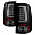 Lighting - Tail Lights - Spyder - Spyder® Black/Smoke Fiber Optic LED Tail Lights | 2007-2014 GMC Sierra
