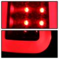 Spyder Black Fiber Optic LED Tail Lights | 2008-2016 Ford Super Duty | Dale's Super Store
