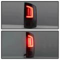 Spyder Black Fiber Optic LED Tail Lights | 2002-2006 Dodge Ram | Dale's Super Store