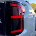 RECON Red/Smoke Fiber Optic LED Tail Lights | 2015-2017 Ford F-150 | Dale's Super Store
