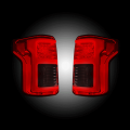 Ford F-150 Lighting Products - Ford F150 Tail Lights - RECON - RECON Red Fiber Optic LED Tail Lights | 2015-2018 Ford F-150