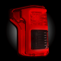 RECON Red Fiber Optic LED Tail Lights | 2015-2017 Ford F-150 | Dale's Super Store