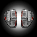 Lighting Products - Tail Lights - RECON - RECON Clear Fiber Optic LED Tail Lights | 2009-2014 Ford F-150