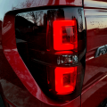 RECON Red/Smoke Fiber Optic LED Tail Lights | 2009-2014 Ford F-150 | Dale's Super Store
