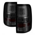Ford F-150 Lighting Products - Ford F150 Tail Lights - Spyder - Spyder® Smoke Fiber Optic LED Tail Lights | 2004-2008 Ford F-150 Styleside