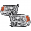 Lighting | 2010-2012 Dodge/RAM Cummins 6.7L - Tail Lights | 2010-2012 Dodge/RAM Cummins 6.7L - Spyder - Spyder® Chrome Factory Style Headlights | 2009-2017 Dodge Ram