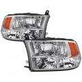 Lighting Products - Tail Lights - Spyder - Spyder® Chrome Factory Style Headlights | 2009-2017 Dodge Ram