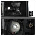 Spyder Black Factory Style Headlights | 2014-2015 Chevy Silverado 1500 | Dale's Super Store