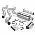 Shop By Vehicle - Exhaust Systems - Banks Power - Banks Power Monster Exhaust System | 2006-2007 Chevy 6.6L, ECLB Extended Cab Long Bed