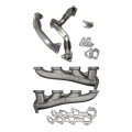 Diesel Truck Parts - PPE - PPE High Flow Exhaust Manifolds & Up Pipes Kit | 2011-2016 Chevy/GMC Duramax LML 6.6L