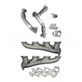 PPE - PPE High Flow Exhaust Manifolds & Up Pipes Kit | 2007.5-2010 Chevy/GMC Duramax LMM 6.6L
