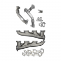 PPE - PPE High Flow Exhaust Manifolds & Up Pipes Kit | 2006-2007 Chevy/GMC Duramax LBZ 6.6L
