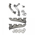 Diesel Truck Parts - PPE - PPE High Flow Exhaust Manifolds & Up Pipes Kit | 2004.5-2005 Chevy/GMC Duramax LLY 6.6L