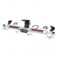 Suspension & Steering - Steering Stabilizer Bars - Rough Country - Rough Country N3 Dual Steering Stabilizer | 2018 Jeep Wrangler JL