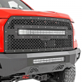 Lighting - LED Grille Kits - Rough Country - Rough Country Amber LED Marker Kit for RC Mesh Grilles | 2015-2017 Ford F-150 2WD/4WD