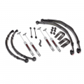 Suspension & Steering - Suspension Lift Kits - Rough Country - Rough Country 4in Suspension Lift Kit | 1982-1986 Jeep CJ