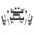 Nissan Frontier Page - Nissan Frontier Suspension Products - Rough Country - Rough Country 6in Suspension Lift Kit (Lifted Struts) | 2005-2018 Nissan Frontier