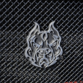 Lighting Products - Emblems, Badges & Inserts - Sinister Diesel - Sinister Diesel Pitbull Grille Emblem