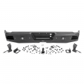 Exterior - Bumper, Brush, & Grille Guards - Rough Country - Rough Country Heavy-Duty Rear LED Bumper | 2007-2018 Chevy Silverado 1500