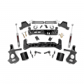Chevrolet Silverado 1500 - Chevrolet Silverado 1500 Suspension - Rough Country - Rough Country 7in Suspension Lift Kit (Strut Spacers) | 2018 Chevy/GMC 1500 2WD