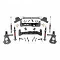 2007.5-2014 Chevrolet Silverado / GMC Sierra - Chevrolet Silverado / Sierra Suspension - Rough Country - Rough Country 7in Suspension Lift Kit (Lifted Struts) | 2018 Chevy/GMC 1500 2WD