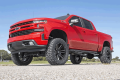2007.5-2014 Chevrolet Silverado / GMC Sierra - Chevrolet Silverado / Sierra Suspension - Rough Country - Rough Country 6in Suspension Lift Kit | Strut Spacers | 2019 GM 1500 4WD