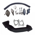 Shop By Vehicle - EGR Upgrades - XDR - XDR EGR Upgrade Kit w/Passenger Side Up-Pipe | 2006-2007 Chevy/GMC Duramax LBZ 6.6L
