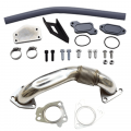 Shop By Vehicle - EGR Upgrades - XDR - XDR EGR Upgrade Kit w/Passenger Side Up-Pipe | 2004.5-2005 Chevy/GMC Duramax LLY 6.6L