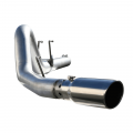 "Exhaust Systems - Full Exhaust Systems - aFe Power - aFe Power Large Bore-HD 4"" Stainless DPF-Back 