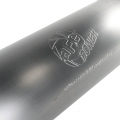 """aFe Power Large Bore-HD 4"""" Stainless Turbo-Back w/Muffler   2007.5-2012 Dodge/Ram Cummins 6.7L   Dales Super Store"""