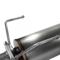 """aFe Power Large Bore-HD 5"""" Stainless Turbo-Back w/ Muffler 