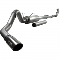 "Exhaust Systems - Full Exhaust Systems - aFe Power - aFe Power Large Bore-HD 4"" Stainless Turbo-Back w/Muffler 