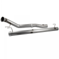 "Exhaust Systems - Competition Race Pipes - aFe Power - aFe Power Large Bore-HD 4"" Stainless Downpipe/Mid-Pipe 